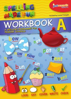 Spelling made fun pupils book a spelling made fun is a new and innovative fun, multi-sensory spelling programme developed specifically for primary schools English Books For Kids, English Books Pdf, Learn English, English Vinglish, Phonics Books, Phonics Activities, Phonics Rules, English Activities, Abc School