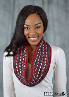 Campfire Nights Scarf by ELK Studio It's A FREE Crochet Pattern