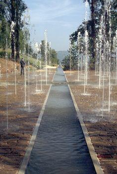 Les Jardins de l'imaginaire  The park is on a site overlooking the historic village of Terrasson la Villedieu.