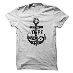 Hope as an Anchor Hebrews 6:19 T Shirts, Hoodies. Check price ==► https://www.sunfrog.com/Faith/Hope-as-an-Anchor--Hebrews-619.html?41382 $20