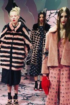 London Fashion Week 2016: Shrimps Serve Up Some Faux Fur Realness