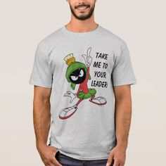 Upgrade your style with Marvin The Martian t-shirts from Zazzle! Browse through different shirt styles and colors. Search for your new favorite t-shirt today! Types Of T Shirts, Marvin The Martian, Then And Now, Funny Tshirts, Shirt Style, Fitness Models, Your Style, National Parks, Shirt Designs