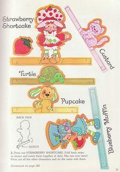 Paper Dolls~Strawberry Shortcake ToyBook - Bonnie Jones - Álbuns da web do Picasa