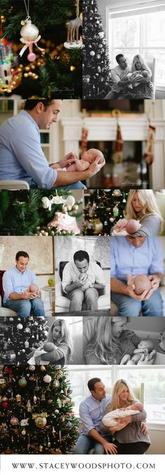 Winter newborn session  Stacey Woods, Lifestyle Photography - I hope our baby is born before Christmas but even after that would be beautiful!