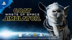 [Video] Goat Simulator: Waste of Space - Announce Trailer | PS4 #Playstation4 #PS4 #Sony #videogames #playstation #gamer #games #gaming