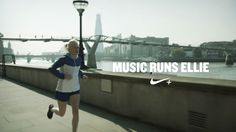 Nike+ inspires me, brings out my best - my willpower. Ellie Goulding runs with Nike+ too. So I run with her.