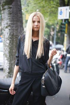 all black.....always chic