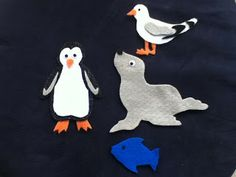 Storytime ABC's: Flannel Friday: There Was a Little Penguin