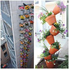 Home Garden Decor Sky Planter Hanging Flower Pot Upside Down Plant Pot |  Hydroponic Plants, Plants And Gardens
