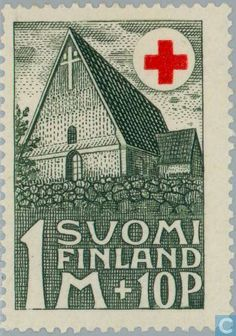 Finland - For the benefit of the Red Cross 1931 Russian Revolution, Going Postal, Red Cross, Stamp Collecting, Postage Stamps, Finland, Nostalgia, My Arts, Culture