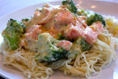 Krämig laxpasta med broccoli | Vardagsköket | Recept
