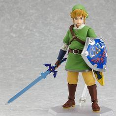 Figma Link Legend of Zelda Max Factory JAPAN Toy Hobby STOCK Figure New JP http://cgi.ebay.com/ws/eBayISAPI.dll?ViewItem=140900470442