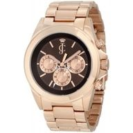 Juicy Couture Womens 1900900 Stella Rose Gold Plated Bracelet Watch