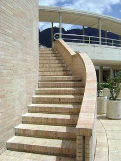 CO, Bogotá, Gabriel García Márquez Cultural Center. Architect Rogelio Salmona, 2008.