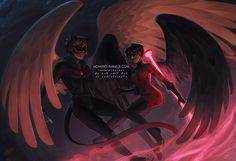 """hchano: """" it's… it's finally done. this was a commission for for her fanfic, serendiptious fate! i think this probably took me about a million years, and i accidentally turned it into a full body instead of a half because what is self. Miraculous Ladybug Wallpaper, Miraculous Ladybug Fan Art, Meraculous Ladybug, Ladybug Comics, Cartoon As Anime, Manga Anime, Mlb, Les Miraculous, Marinette Ladybug"""