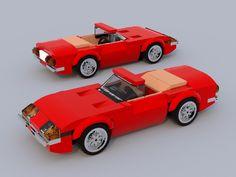 Lego Cars, Lego Auto, Easy Lego Creations, Lego Speed Champions, Lego Vehicles, Awesome Lego, Lego Worlds, Lego Architecture, Lego Stuff