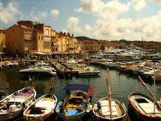 """Saint-Tropez """"le vieux port"""", France"""