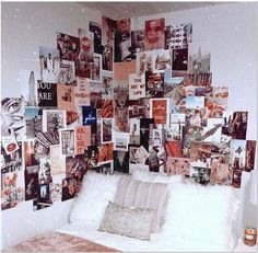 Terrific Photo wall decor bedroom pictures Concepts Seeing that you happen to be extremely pleased household proprietor, you're ready to porch the surfaces by usi. Decoration Tumblr, Tumblr Wall Decor, Teen Wall Decor, Cool Wall Decor, Dormitory Room, Dorm Design, Design Design, Design Elements, Bedroom Wall Collage