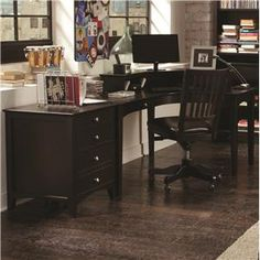 its time to take home office organization to the extreme with this ergonomically designed desk aspenhome home office e2