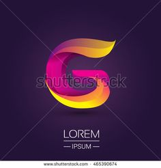 G letter colorful logo, Vector design template elements for your application or company identity.
