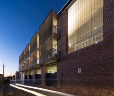 Hill Thalis - Majestic Apartments - Adaptive Reuse - Heritage housing - Lane at night