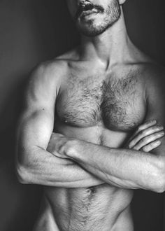 man up; don't be afraid of your body hair bro! own it