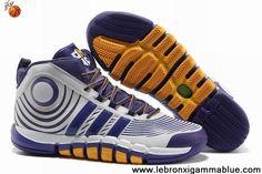 Buy New Club Purple White Yellow Adidas adiPower Howard 3 G22669 Sports Shoes Shop