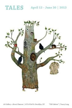 Christine Roussey love love love this tree painting