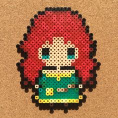 Merida (Brave) perler beads by tsubasa.yamashita