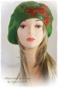 DSC09329 Wet Felting, Needle Felting, Felt Hat, Wool Felt, Hat Boxes, Mitten Gloves, Hair Dos, Playing Dress Up, Headbands