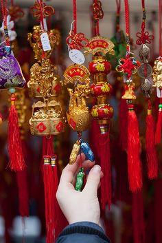 China Travel Inspiration - Chinese New Year ornaments
