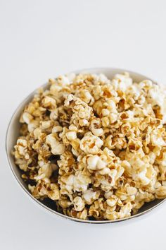 how to make salted popcorn in a popcorn maker