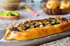 Pide a la viande hachée, pizza turque
