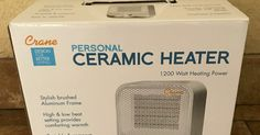 Enter to Win a Ceramic Personal Heater from Crane!   Ends 02/28/17     Click HERE to enter on Twitter!   (One Twitter winner will be se...