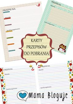 KARTY PRZEPISÓW DO POBRANIA