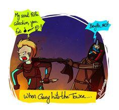 Destiny 2 - When Gary hits the Tower by Dulcamarra.deviantart.com on @DeviantArt