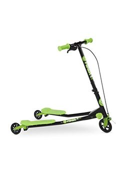Yvolution Y Fliker A1 Kids Scooter Green * You can find more details by visiting the image link.