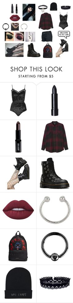 """hehe"" by xdepressedx on Polyvore featuring Topshop, Lord & Berry, Monki, Leg Avenue, Sirius, Dr. Martens, CENA, Lime Crime, Miss Selfridge and Givenchy"
