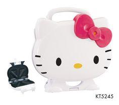 Hello Kitty toaster!!!!.