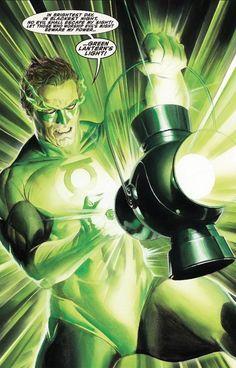 Alex Ross Green Lantern Artwork