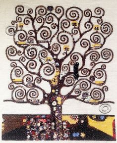 Freebie Gallery: Tree of life Klimt