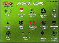 Shining clans, Uzumaki all the way- I just love their symbol and their clan is just cool