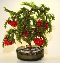 עץ  עם פירות אדומים