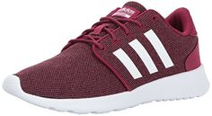 finest selection f1c27 8e690 adidas Women s CF QT Racer Running Shoes, Mystery Ruby White Black, (8 M US)