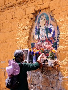 An Offering of Water . Lhasa