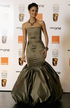 Thandie Newton Photo - Awards Room At The Orange British Academy Film Awards Newton Photo, Nicole Warne, Thandie Newton, British Academy Film Awards, Photo Awards, Strapless Dress Formal, Formal Dresses, Dressed To The Nines, Celebs
