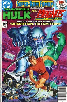 Super-Team Family: The Lost Issues!: The Hulk and Magnus, Robot Fighter