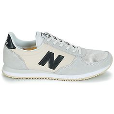d3bace33b1204 ... Leather shoes flats mules. See more. New Balance WL220 Blanc -  Livraison Gratuite