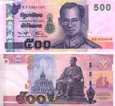 billetes Thailand
