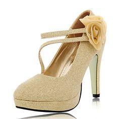 Suede Women's Wedding naaldhak platform hakken schoenen (meer kleuren) – EUR € 32.99